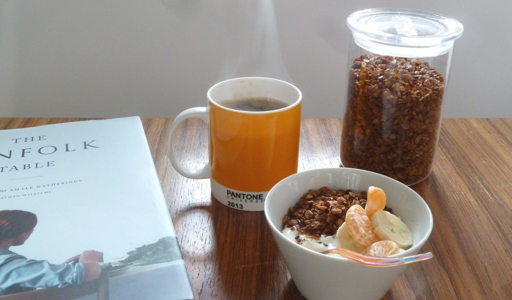 Granola nach 'Kinfolk Table'