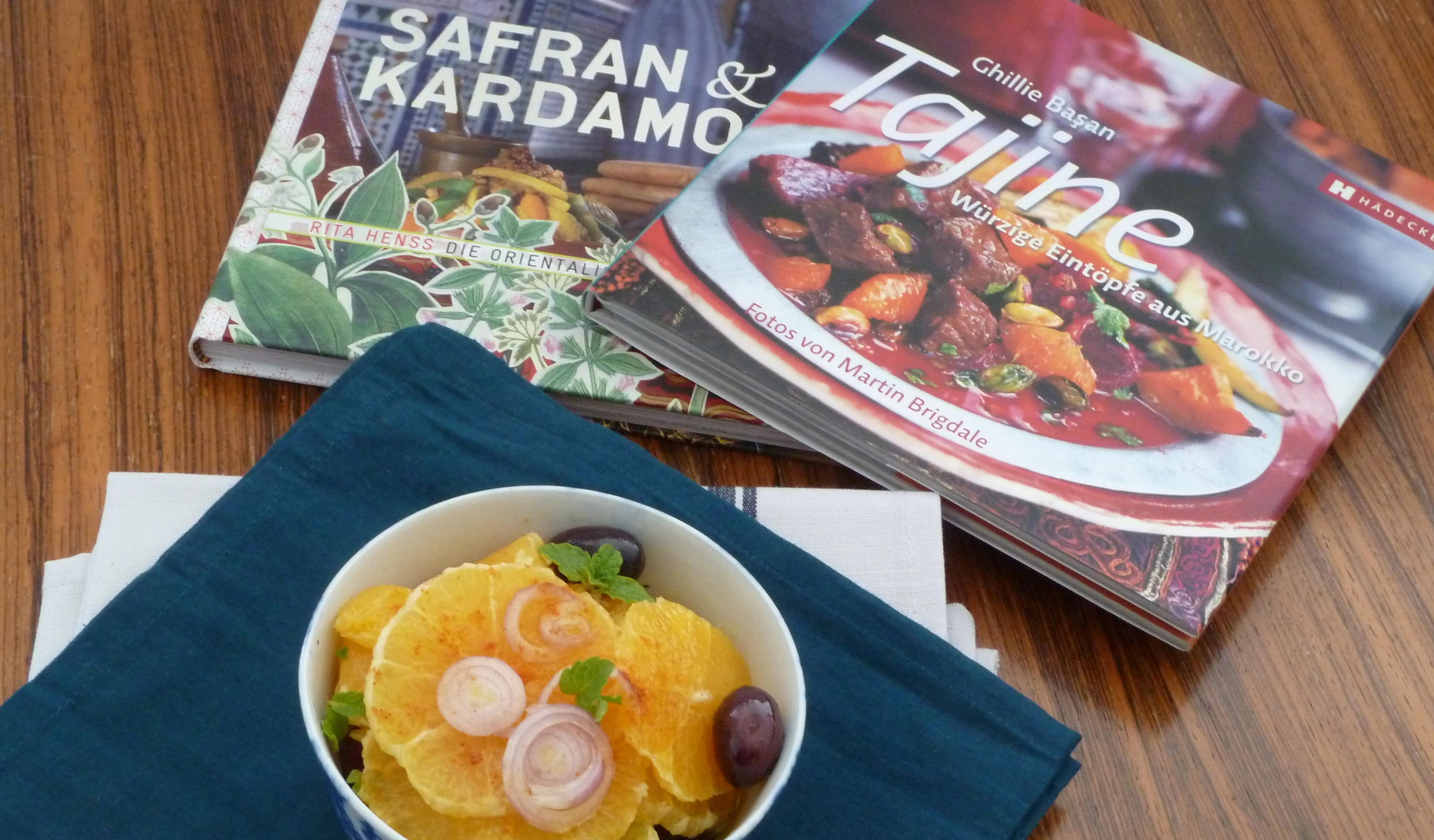 Salat und Bücher