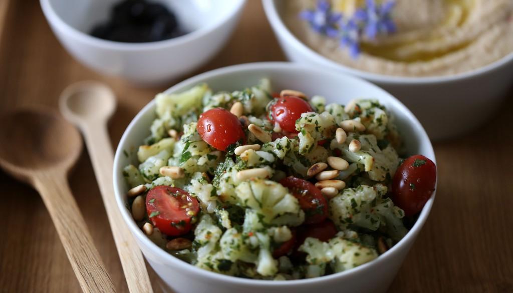 Blumenkohlsalat auf italienische Art