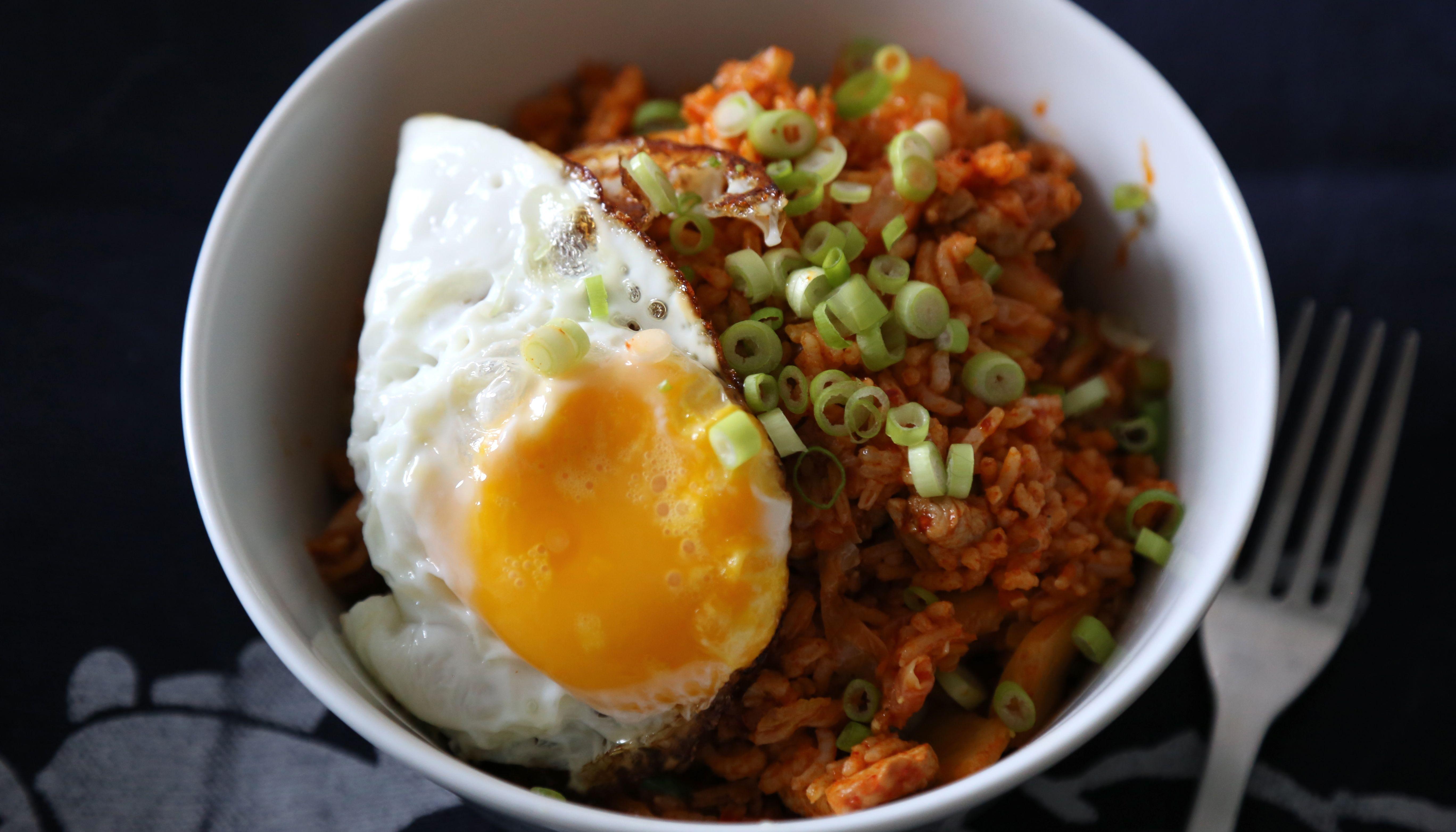 Kimchi-in Schale