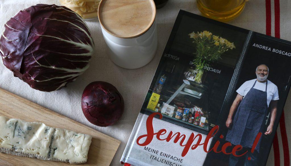 'Semplice' das Kochbuch von Andrea Boscagli vom 'Vini e Panini'
